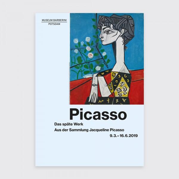 PST 32 Picasso Ausstellungsplakat