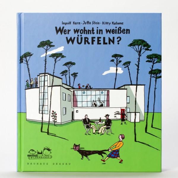 WEISSE WÜRFEL . Bauhaus Kinderbuch