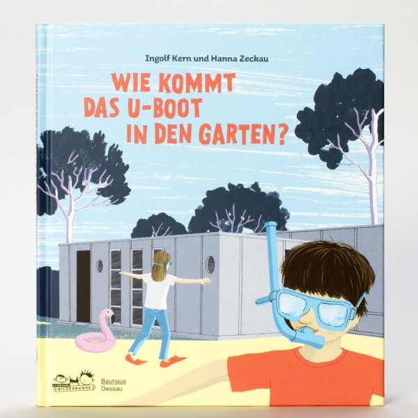 U-BOOT IM GARTEN . Bauhaus Kinderbuch