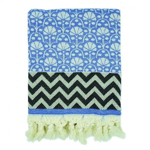hamam towel . JAIPUR . blue