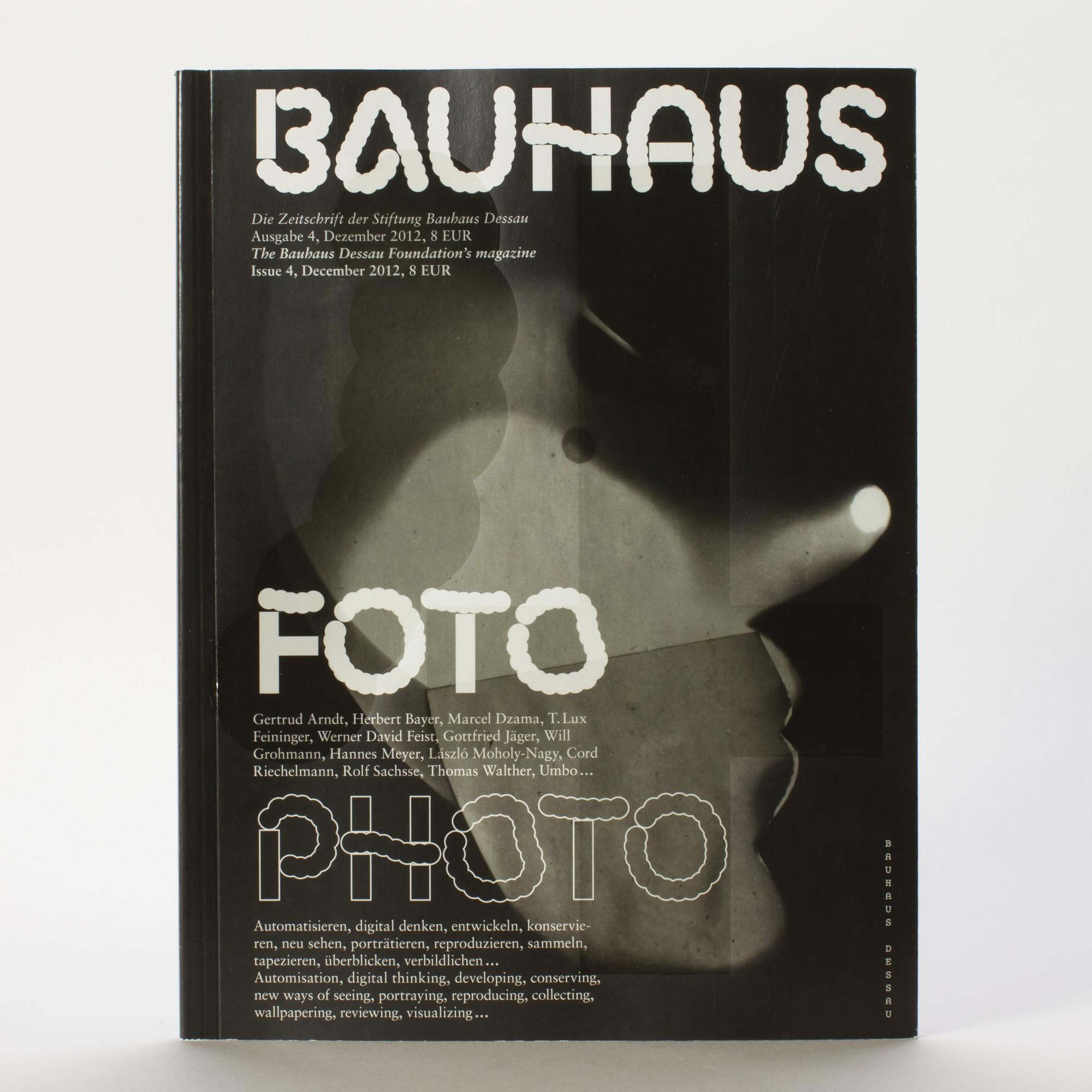 FOTO . Bauhaus Zeitschrift Nr. 4 | ZEITSCHRIFTEN | BUCH | BAUHAUS ...