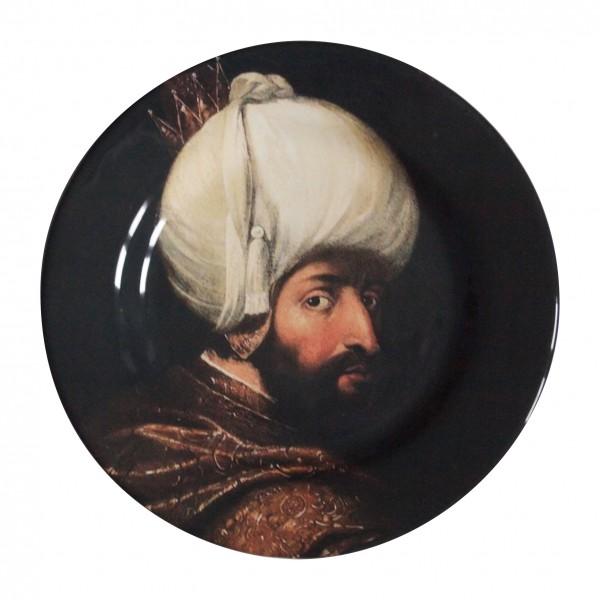 porcelaine plate . SULTAN . (07) . 28 cm