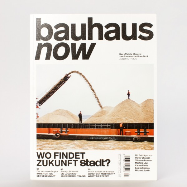 BAUHAUS NOW #2 . Magazin