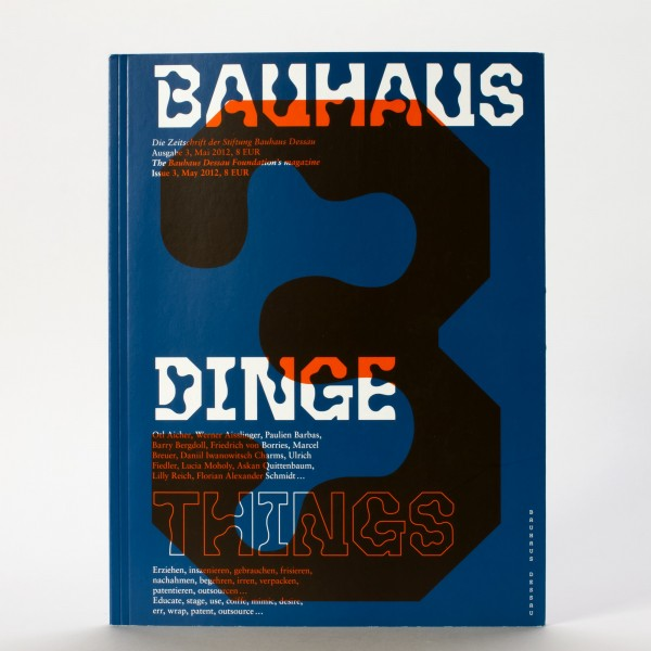 DINGE . Bauhaus Zeitschrift Nr. 3