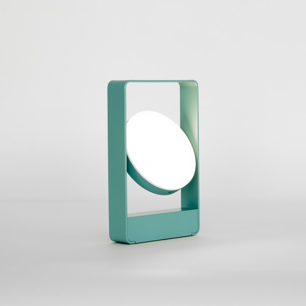 MOURO . Lampe . blau