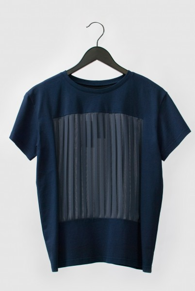SCHMIDTTAKAHASHI . Plissee . Shirt