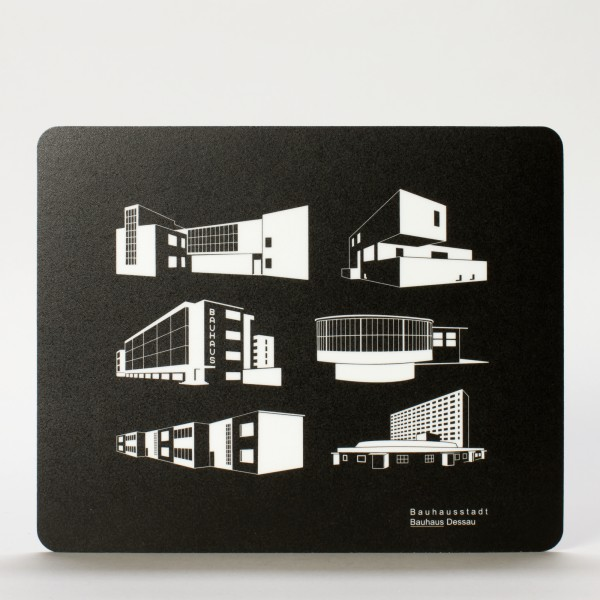 BAUHAUS . Mousepad . Iconblocks