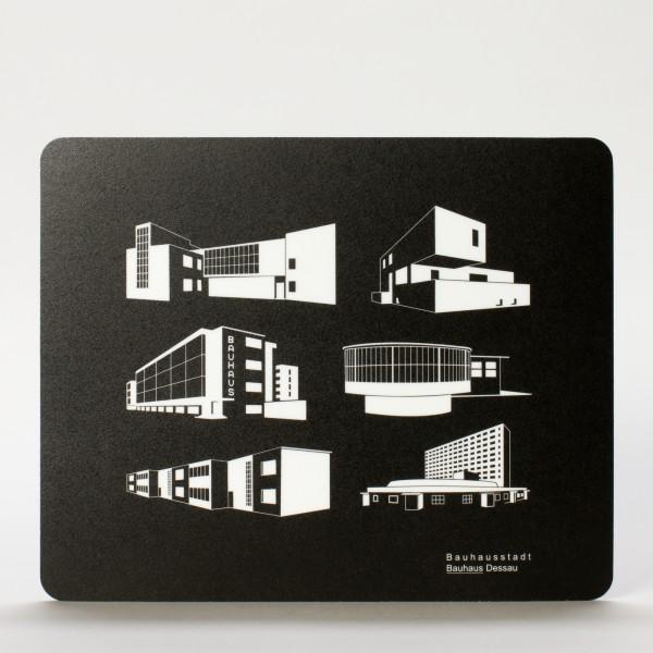 BAUHAUS . Mousepad . Iconblocks
