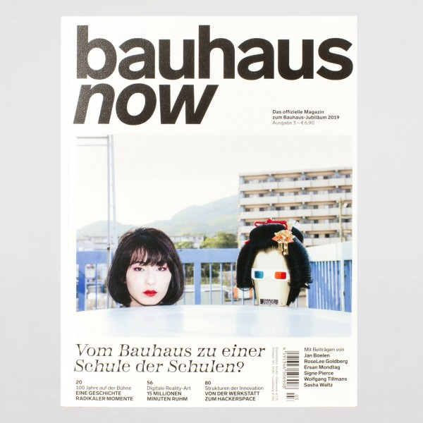 bauhaus now #3 . deutsch