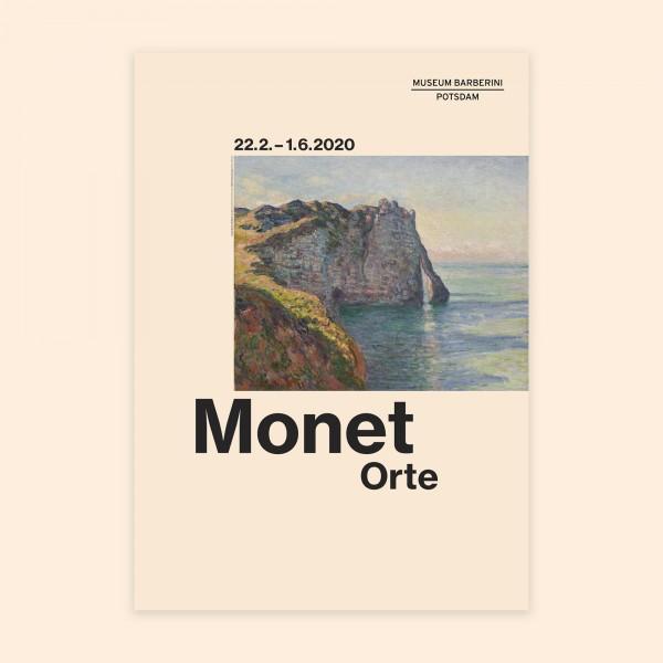 PST 49 Ausstellungsplakat Monet