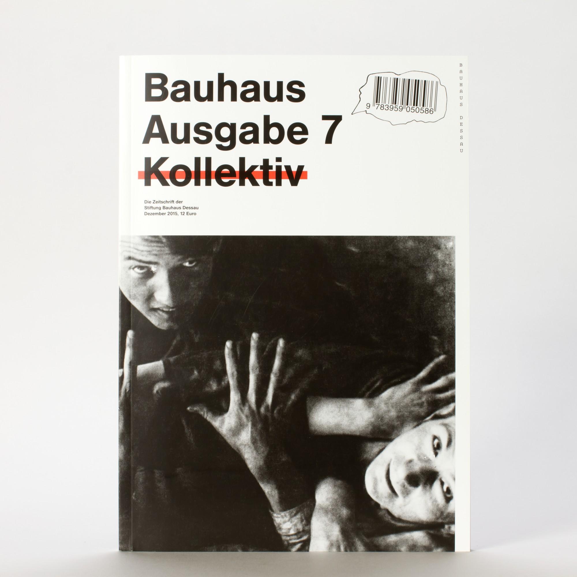 KOLLEKTIV . Bauhaus Zeitschrift Nr. 7 | ZEITSCHRIFTEN | BUCH ...