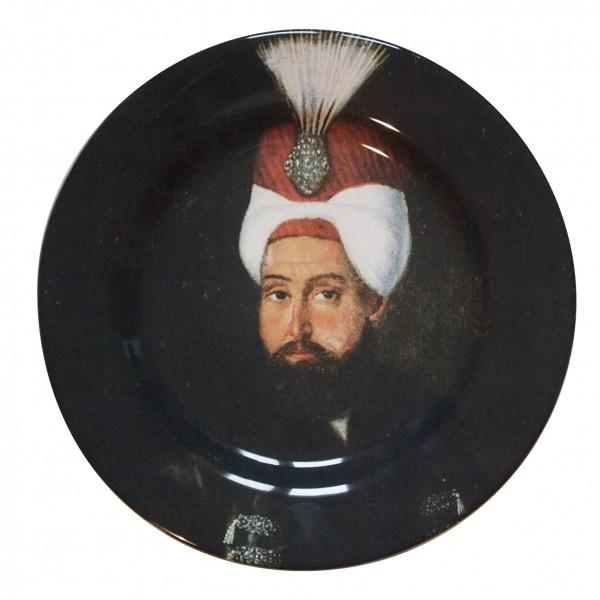porcelaine plate . SULTAN . (06) . 21 cm