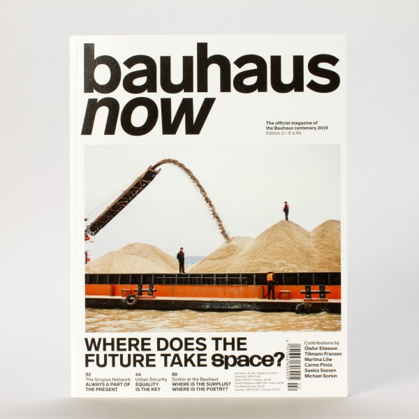 BAUHAUS NOW #2 . Magazin . engl