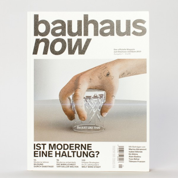 BAUHAUS NOW #1 . Magazin