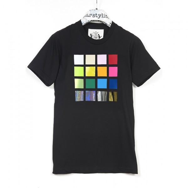 T-Shirt . RICHTER . schwarz . unisex