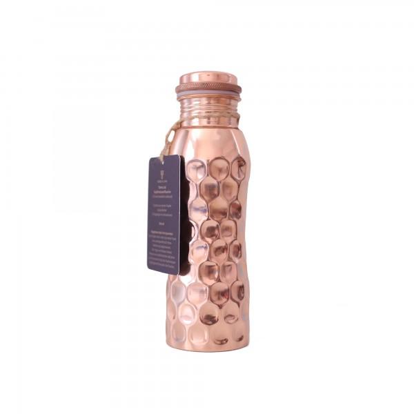 Wasserflasche . DIAMANT . Kupfer . 600ml