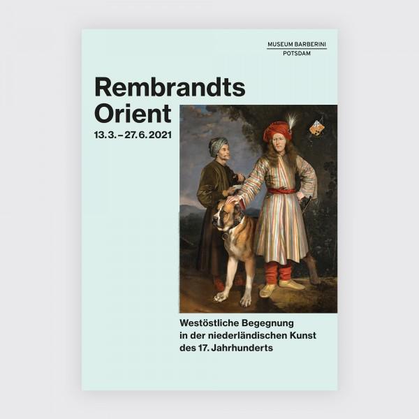 PST 70 . Rembrandts Orient . Ausstellungsplakat