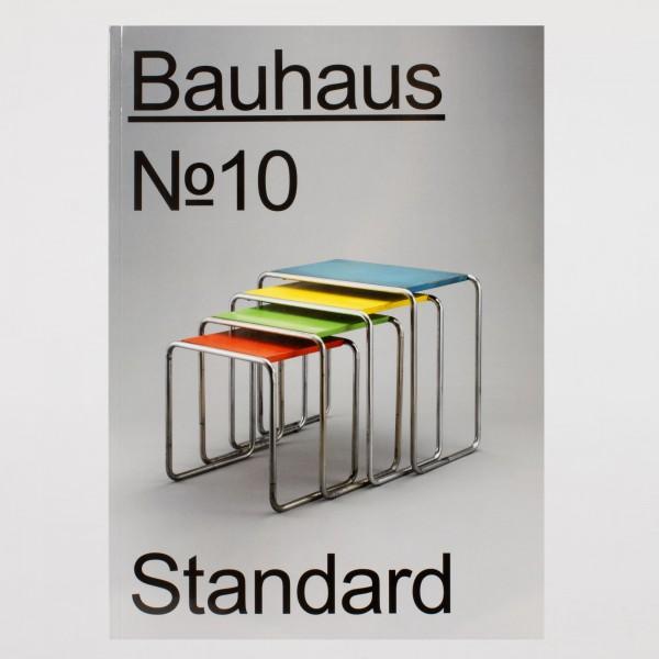 STANDARD . Bauhaus Nr. 10 . englisch
