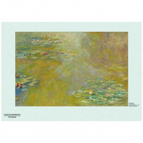 PST 55 Monet The Water-Lily Pond Poster